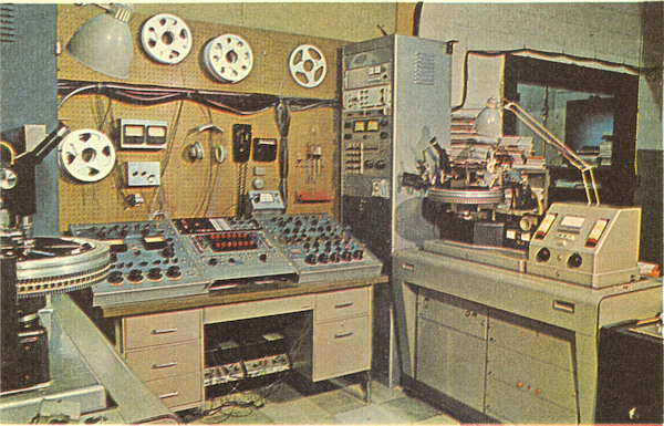Shelley Products cutting room, early 1970s